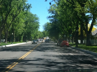 first go drive through this tree-lined historic residential area