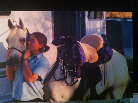 Pre-moonlight ride. Summer, mid 2000s.