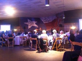 Saturday night National Awards Banquet.