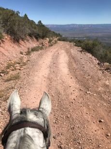 amazing views out to the Verde Valley and Sedona make this section worthwhile