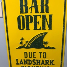 Don't mind if I do. Also, I need this sign, due to living with a couple of landshark terriers.