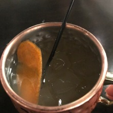 The hotel was fabulous, and super-accommodating, including creating a cusotm drink for the weekend: the Endurance Mule (ginger beer, vodka, lime, splash of Red Bull, and a carrot curl garnish!)